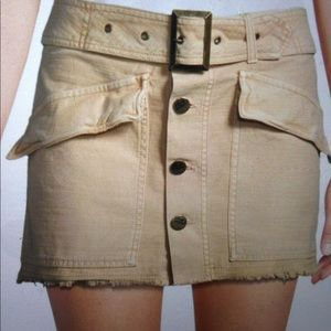 Free People Cotton Mini Skirt. Coming Soon!
